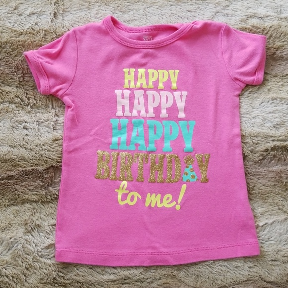 Carters Happy Birthday Shirt